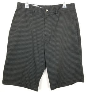 Volcom Stone | striped shorts |